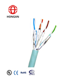 Indoor Symmetrical Pair Cables For Digital Communications Horizontal Floor Wiring-FTP Category 7 F/F