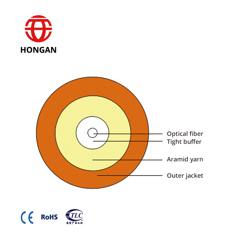Single Fiber Rotundity Cable GJFJH